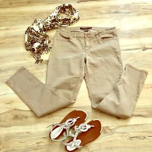 Jordache Tan, Skinny Jeans, Women's size 12
